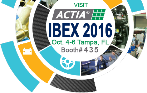 Visit ACTIA Corporation at IBEX 2016 on Oct. 4-6 in Tampa, FL
