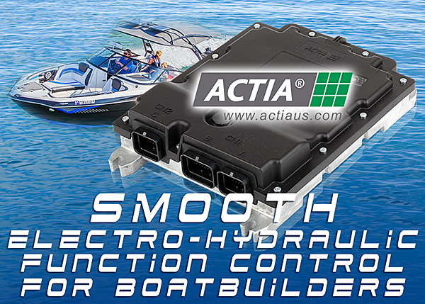 ACTIA SPU: Smooth Electro-Hydraulic Power Control