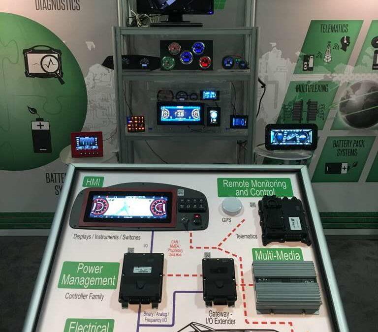Debut of ACTI-Vision 1230 at IBEX 2017 – ACTIA Corp.